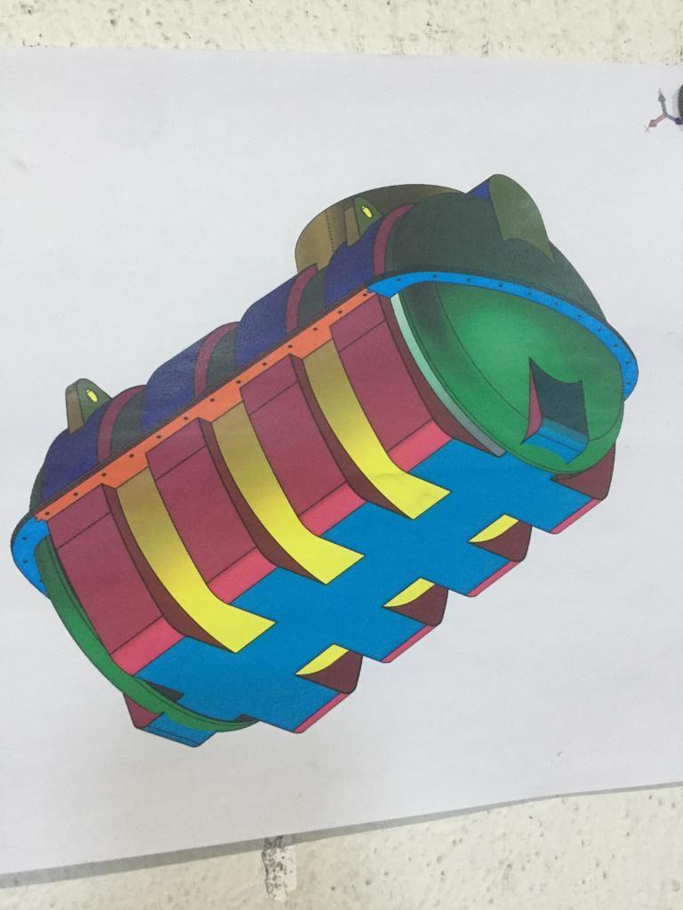 M2C aposta na produção de moldes para rotomoldagem. Modelação de projeto de molde para rotomoldagem